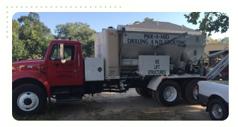 Compaction Grouting Mixing Truck